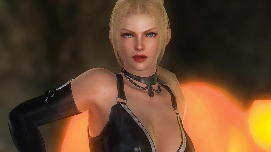 attractive woman in video games