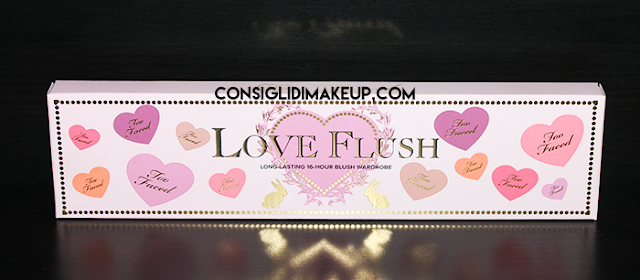 Review: Palette Love Flush - Too Faced