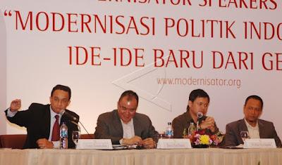 Contoh modernisasi bidang politik