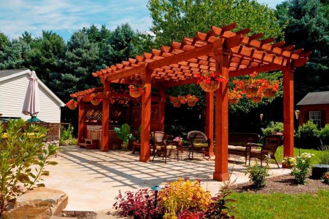 Dise 209 O De Pergolas Para Jardin Patios Y Jardines