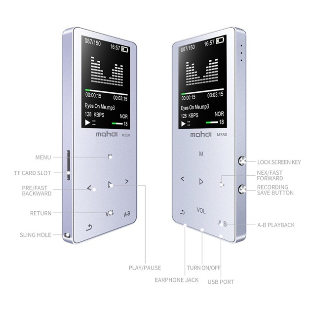 Mp3 player termurah MYMAHDI MP3/MP4 Music Player