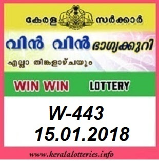 WIN WIN (W-433) LOTTERY RESULT JANUARY 15, 2018
