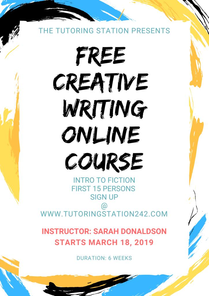Online creative writing course free term paper writers