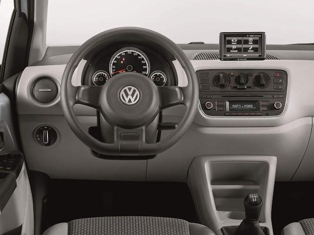 Volkswagen Up! TSI Turbo 2016 - move-up! - interior