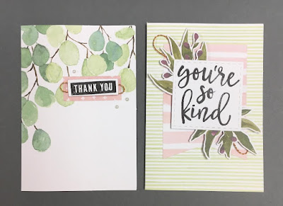 Stampin' Up! Notes of Kindness Card Kit, www.stampingwithsusan.com