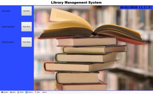 A project on library management system