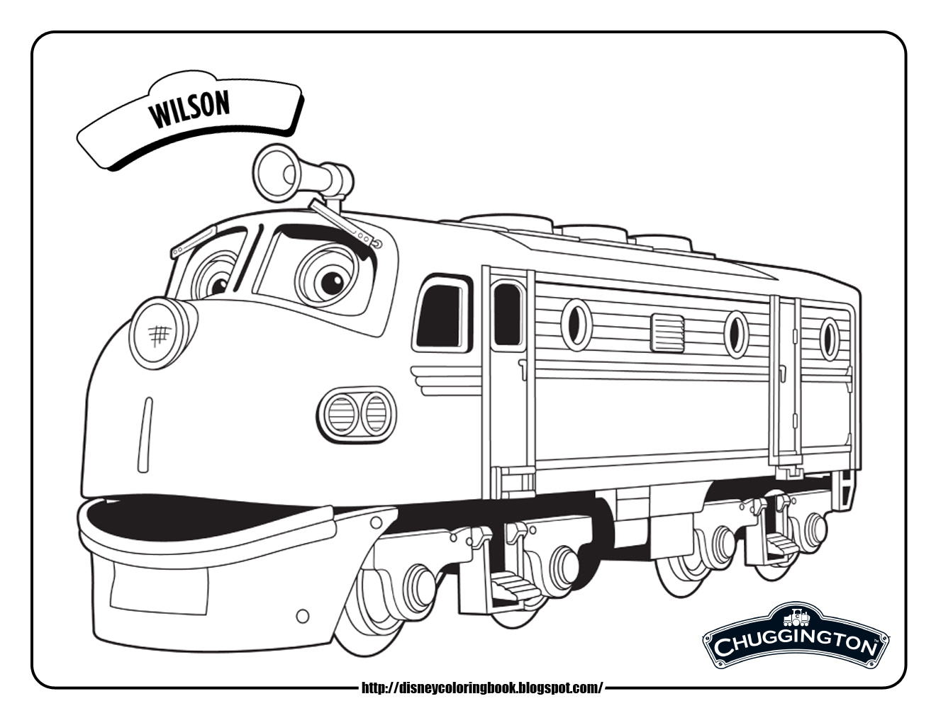 Disney Coloring Pages And Sheets For Kids Chuggington 1 Free