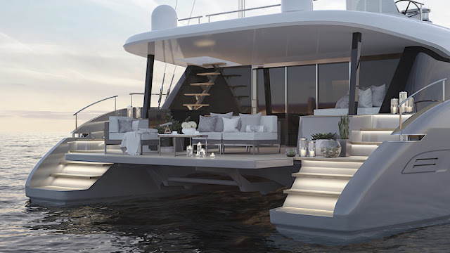 This New 50-Foot Super-Luxe Catamaran by Sunreef