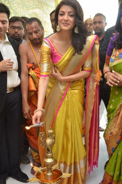 Kajal Agarwal Stills At Trisha Designer Store Launch