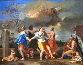 Poussin - A dance to the music of time (1635)