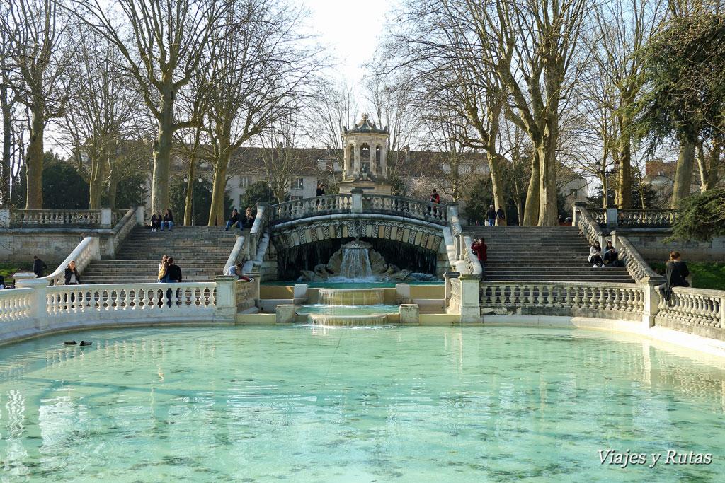 Qué ver en Dijon: Jardín Darcy