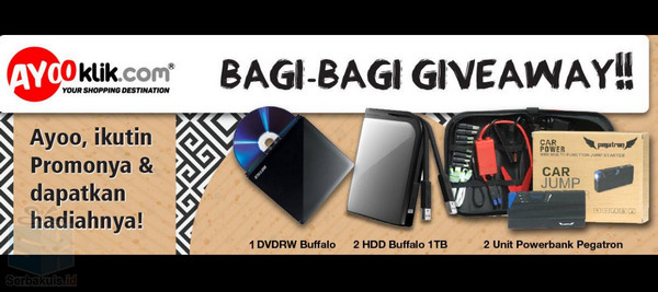 Promo Giveaway Ayooklik.com Periode II