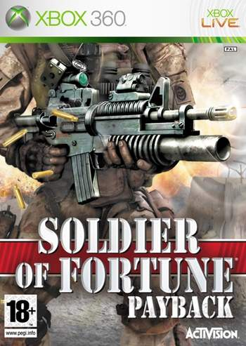 Soldier Of Fortune Payback XBOX 360 Full Español