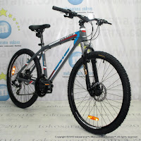 United Dallas XC77 4.1 Aloi 21 Speed Sepeda Gunung 26 Inci