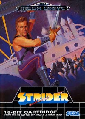 Rom de Strider - Mega Drive - PT-BR