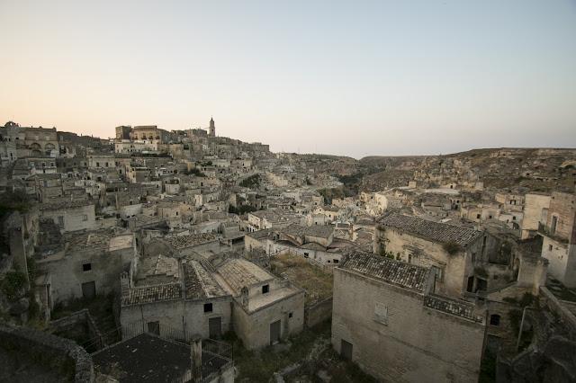 Punto panoramico vicino Palazzo Lanfranchi-Matera