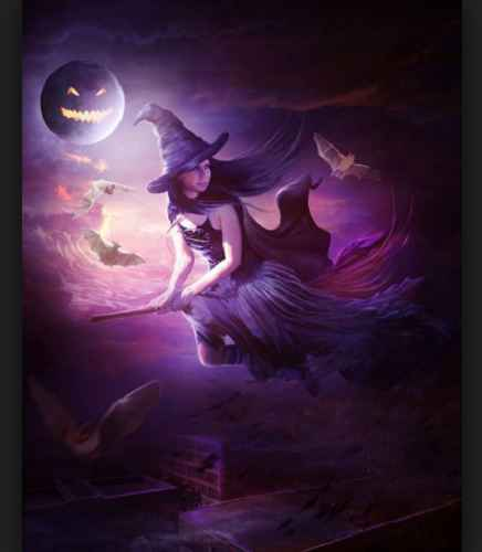 Halloween Witch Images