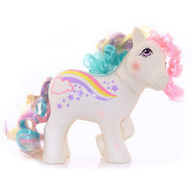 MLP Raincurl Year Eight Rainbow Curl Ponies G1 Pony