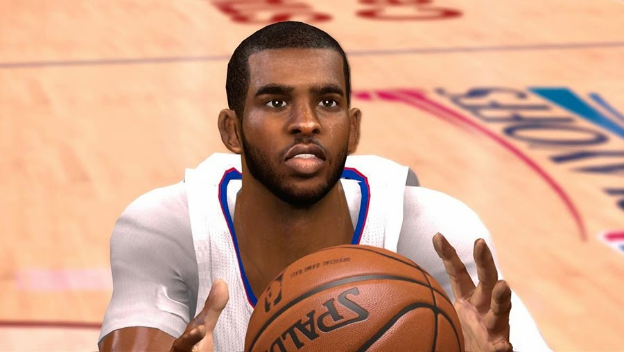 NBA 2K14 Chris Paul Realistic Face Mod