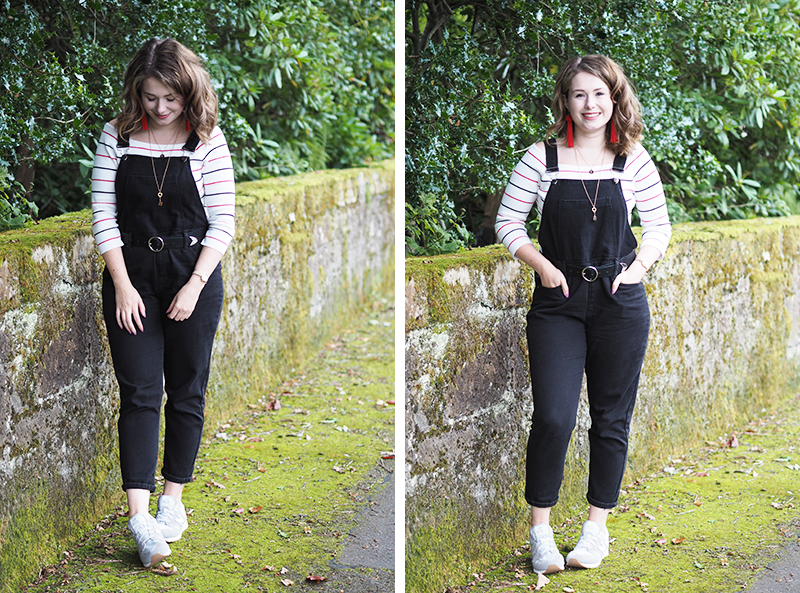 Student Fashion Blog Glasgow How To Style Dungarees| Colours and Carousels - Scottish Lifestyle, Beauty and Fashion blog