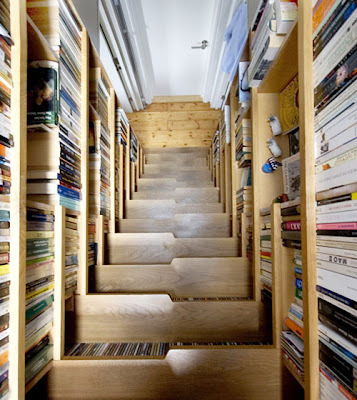 Furniture Interior Design: Compact stairs for small home
