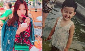Sao Hàn 22/4: Lee Jong Suk xinh trai từ bé, Park Shin Hye mix đồ rực rỡ