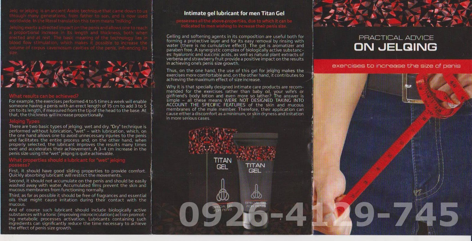 titan gel philippines 0926 4129 745 practical use of titan gel cream