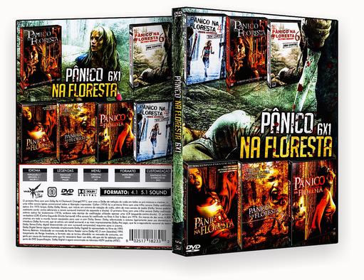 Coleção – Panico Na Floresta – 6 em 1 – ISO