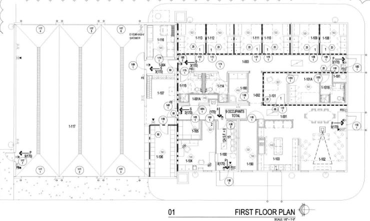 Building Fire Stations – Fire Station Floor Plans