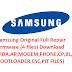 Samsung Original Full Repair firmware (4 files) Download (PDA,AP,MODEM,PHONE,CP,BL,BOOTLOADER,CSC,PIT FILES)