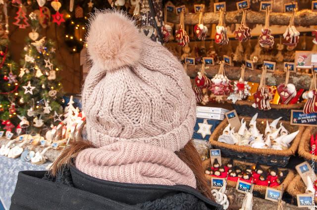 Obernai pueblos Alsacia Navidad