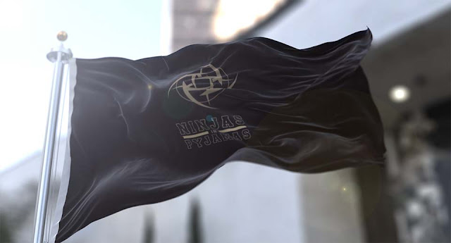 Ninjas in Pyjamas - Flag [4K] Wallpaper Engine