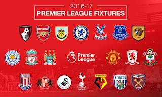 Jadwal Pertandingan Liga Inggris Sabtu-Minggu 21-22 Januari 2017