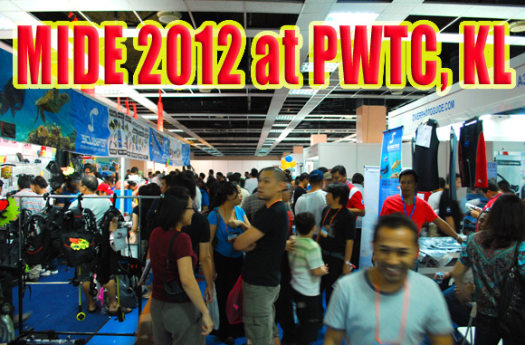 Malaysia International Dive Expo 2012