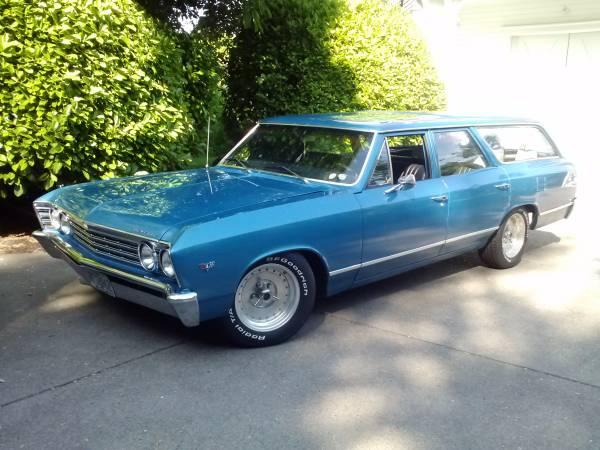 1967 Chevelle Malibu Wagon