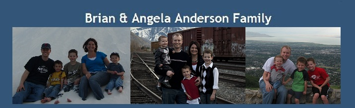 Brian & Angela Anderson Family