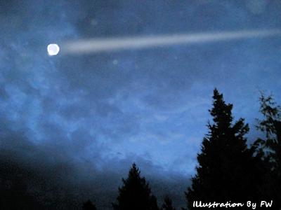 UFO Over Ryde 1-8-16