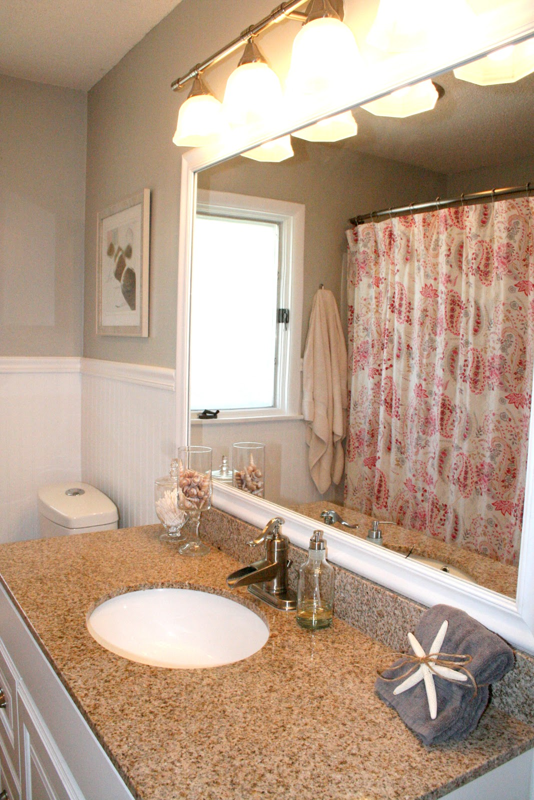 Remodelaholic No More Pink Tile Bathroom Remodel - 1950s bathroom remodel