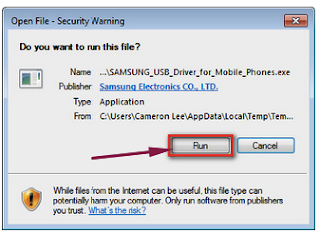 How to install Samsung Galaxy Wide 2 USB Driver on Windows?
