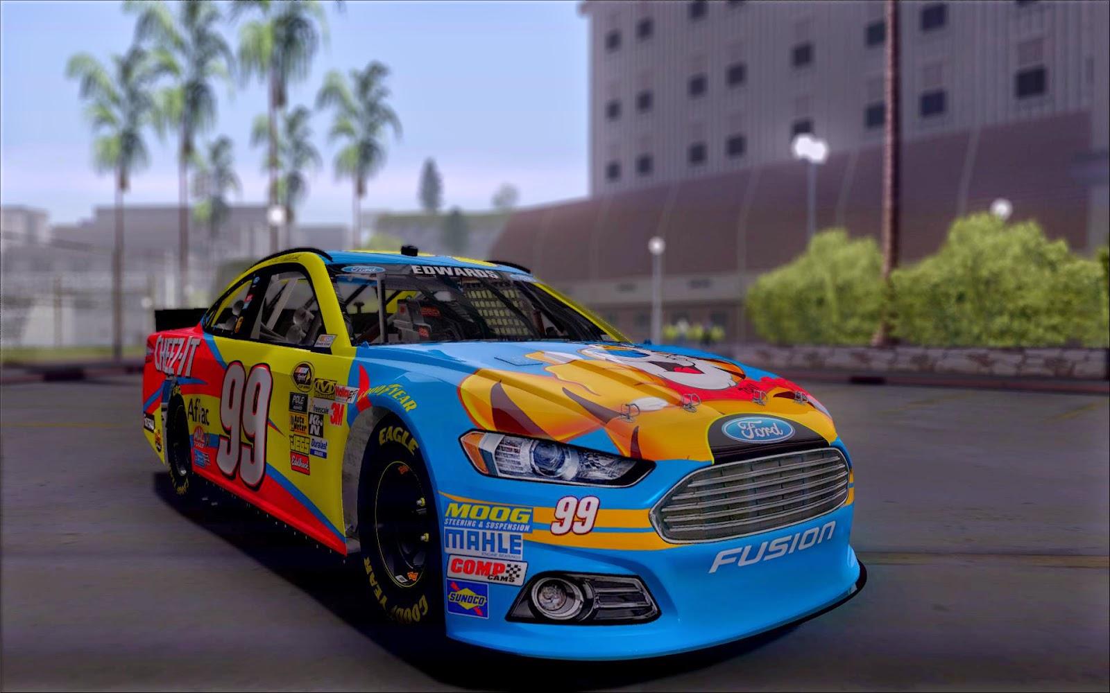 Grand Theft Auto San Andreas Nascar Carl Edwards Paint