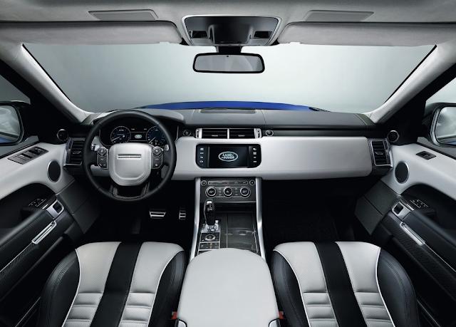 2016 Land Rover Range Rover Sport Meridian sound interior