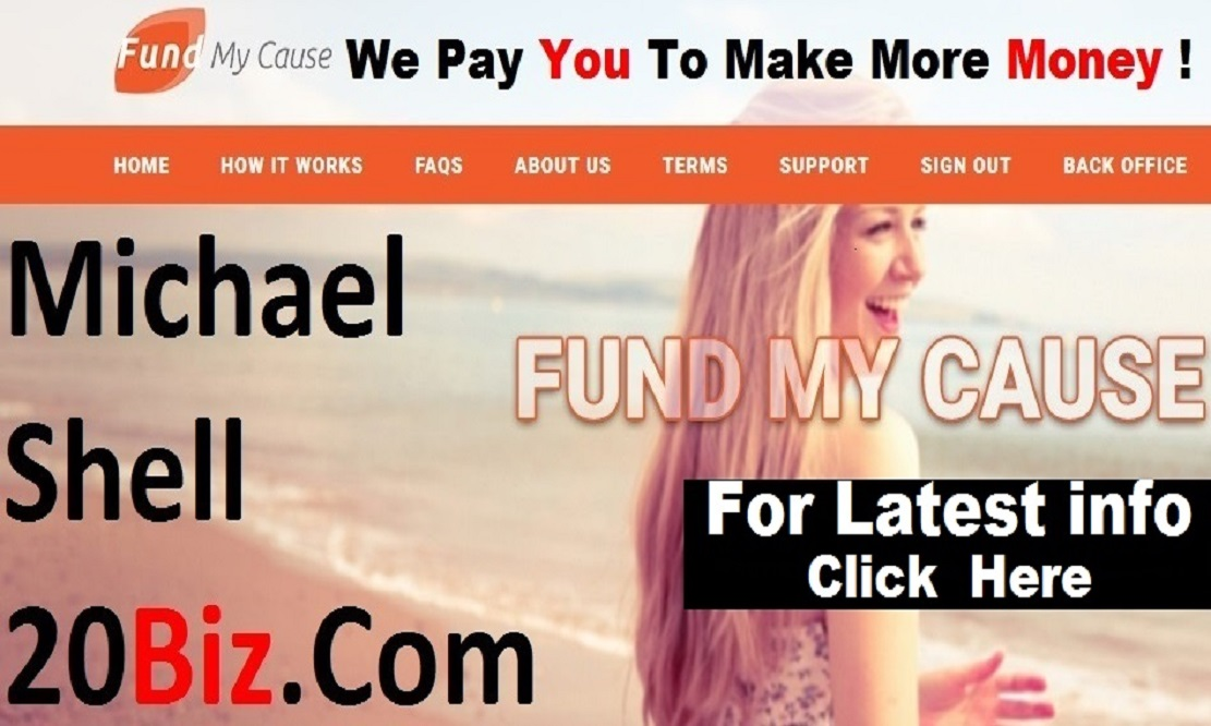Fund My Cause   |  Michael Shell