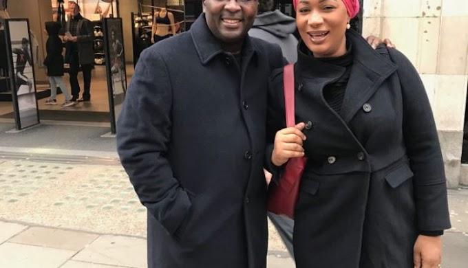 Healthy looking Bawumia walks streets of London