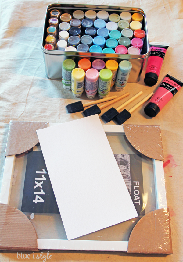 Simple and Modern DIY Painting