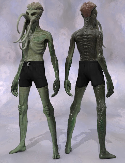 The Elder One for Genesis 3 Male