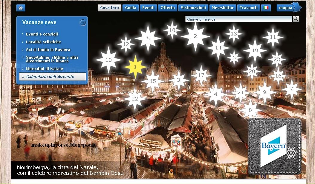 Calendario Avvento Baviera Turismo – Vinci Soggiorni In Baviera