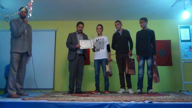اختتام مسابقة الملقي المتميز في نسختها الثانية بثانوية عمر الجيدي اسطيحة مديرية شفشاون