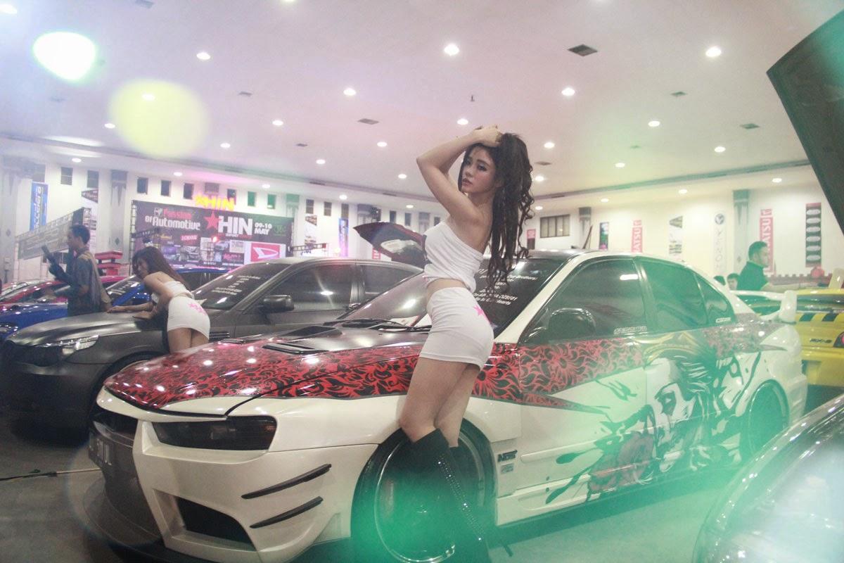 Miss HIN 2015 Maria Park Hot Import Nights Photoshoot