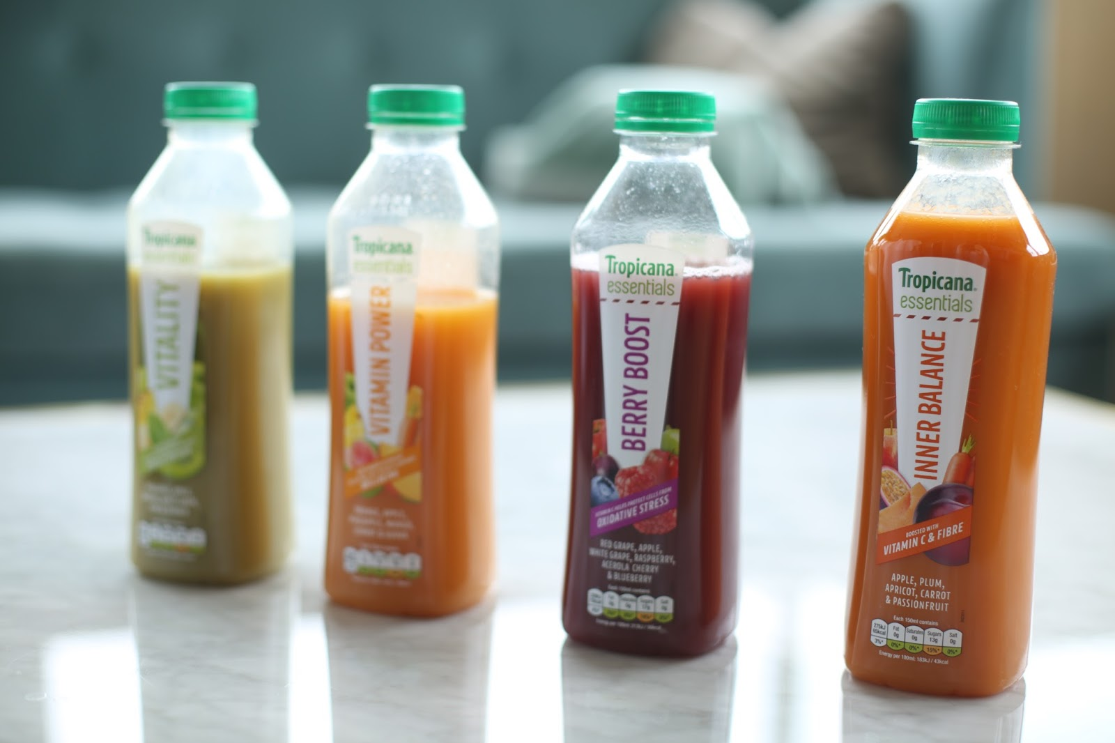 Tropicana Essentials range juices