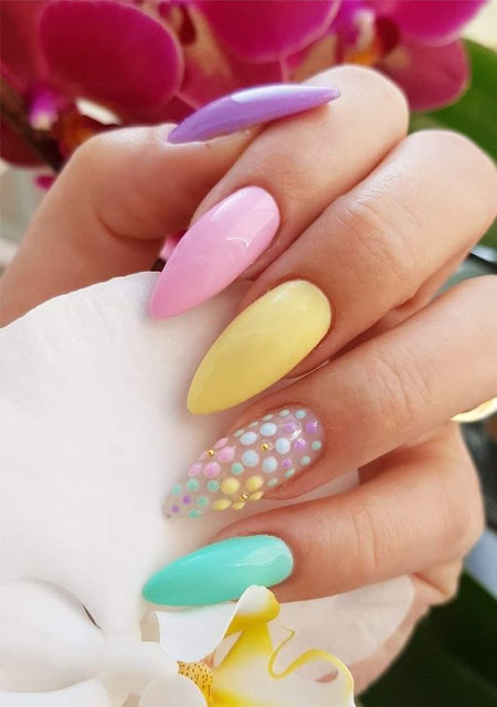 89+ Gorgeous Spring Nails Ideas That Are Perfect In Easter